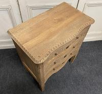 French Bleached Oak Chest of Drawers (5 of 12)