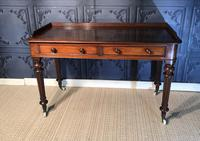 Victorian Mahogany Writing Table (5 of 13)