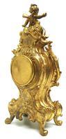 Antique 8 Day Ormolu Mantel Clock Set Cherubs At Play 8 Day Mantle Clock (8 of 11)