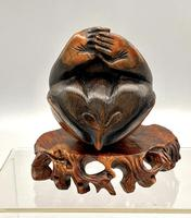 Signed Netsuke of a Monkey (7 of 8)