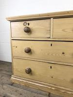 Small Victorian Antique Pine Chest of Drawers (6 of 15)