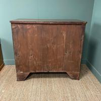 Georgian Oak Country Antique Chest of Drawers (6 of 8)