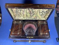 Regency Rosewood Twin Canister Tea Caddy (7 of 17)