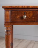 Fine Quality Late Regency Mahogany Library Table (5 of 8)