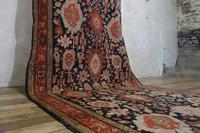 Extremely Long Early 20th Century Kuba Kelleh Corridor Carpet - Rug (9 of 11)