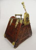 Victorian Fretwork Mahogany Coal Purdonium (4 of 7)