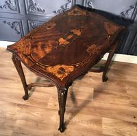 Quality Inlaid Walnut Occasional Table (3 of 18)