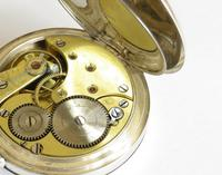 Antique Silver Omega Pocket Watch for Sanders & Co (4 of 6)