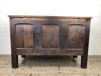 18th Century Carved Oak Coffer (10 of 10)
