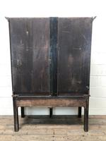 Small Antique Oak Farmhouse Country or Cottage Dresser (12 of 12)