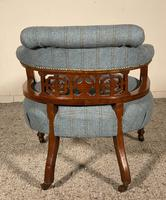 Scottish Armchair In Mahogany Called Tub Chair 19th Century (7 of 7)