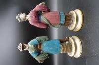 Charming Pair of Early 20th Century Meissen Figures in Oriental Garb (7 of 9)