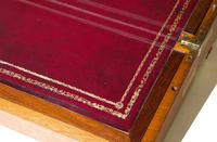 Early 19th Century Brassbound Mahogany Writing Slope with fitted interior (4 of 8)