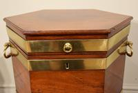 George III Octagonal Wine Cooler on Stand (2 of 6)