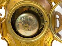 Fine Quality Rococo French Mantel Clock (6 of 8)