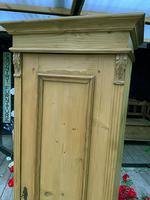 Fabulous Old Stripped Pine Pine Cupboard / Cabinet/ Wardrobe (4 of 11)