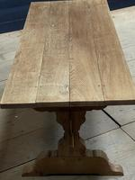 Smaller French Farmhouse Bleached Oak Dining Table (8 of 17)