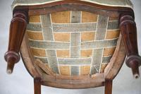 Single Mahogany Balloon Back Dining Chair (9 of 10)