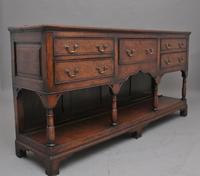 18th Century Oak Potboard Dresser (7 of 9)