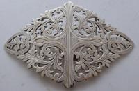 London 1902 Hallmarked Solid Silver Nurses Belt Buckle Marples & Co (2 of 8)