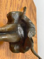 Charming  German Art Deco Style Bronze Sculpture Dancing Young Ballerina Girl (2 of 24)