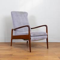 Greaves & Thomas Mid Century Teak Reclining Armchair - We Have 2 (5 of 16)