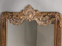 A Very Large Late 19th Century Giltwood Mirror (4 of 4)