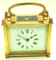 Fine Antique French 8-day Rectangle Carriage Clock Mantel Timepiece c.1890 (10 of 10)