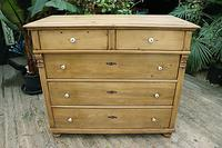 Fantastic & Big! Victorian Pine Chest of Drawers - We Deliver!