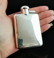 Vintage Sterling Silver Hip Flask (13 of 13)