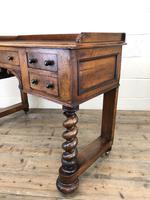 Antique Mahogany Desk with Barley Twist Supports (9 of 13)