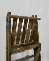 Tall 19th Century Wooden Step Ladder (7 of 7)