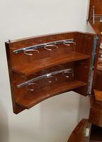 Art Deco Walnut Drinks Cabinet (5 of 8)