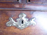 Neat English 18th Century Oak Chest of Drawers (6 of 11)