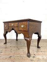 18th Century Oak Lowboy (8 of 10)