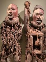 Astonishing Nkonde fetish pair. Incredibly rare and unusual (2 of 3)