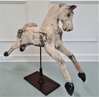 19th Century Mounted Wooden Horse (3 of 4)
