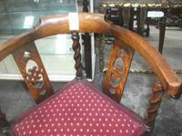 Barley Twist Corner Chair (2 of 2)