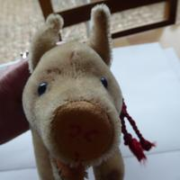 Steiff Pig with Glass Eyes & Original Button (6 of 7)