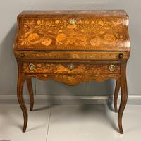 Early 19th Century Dutch Marquetry Bureau (9 of 13)