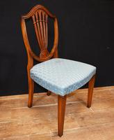 Set 8 Hepplewhite Dining Chairs Mahogany (7 of 7)