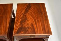 Pair of Antique Mahogany Side /  Bedside Tables (4 of 12)
