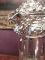 Antique Solid Silver Mounted Claret Jug (6 of 8)