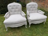 Pair of Very Large Bergere Armchairs (2 of 8)