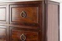 19th Century French Mahogany Marble Top Cabinet (10 of 10)