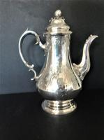 Antique Victorian Silver Coffee Pot - 1847 (10 of 12)