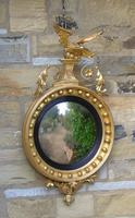 Outstanding Regency Giltwood Mirror With Eagle Crest (2 of 10)
