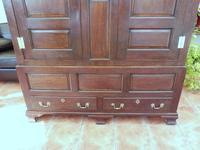 Country Oak Press Cupboard c.1730 (7 of 10)