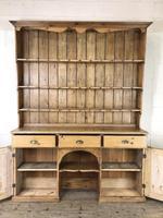 Large Victorian Antique Pine Dresser (10 of 17)