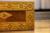 Figured Walnut Tunbridge Ware Box c.1880 (2 of 11)